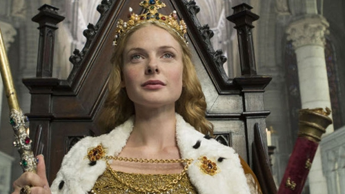 Swedish actress Rebecca Ferguson stars in The White Queen on BBC One