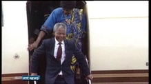 Mandela has fifth night of treatment in hospital