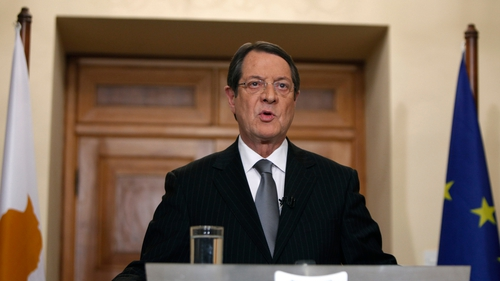 President Nicos Anastasiades said the growth plan would be put to the cabinet within the next 15 days