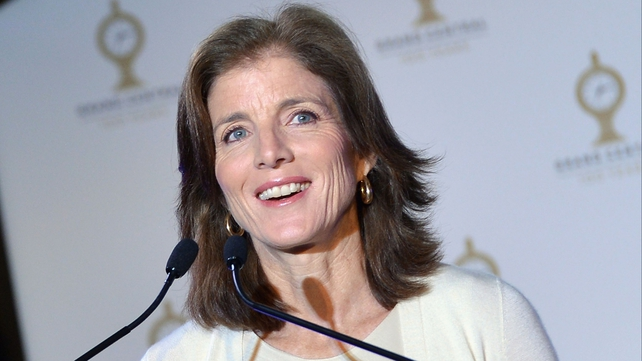 Caroline Kennedy serves on the board of several non-profit organisations