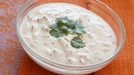 Raita with Radish and Mint - A great side dish with any Indian meal.