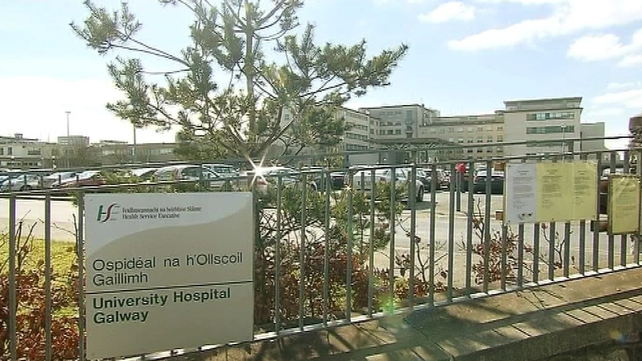 The HSE said 12 staff have been redeployed from Ballinasloe to the Galway unit