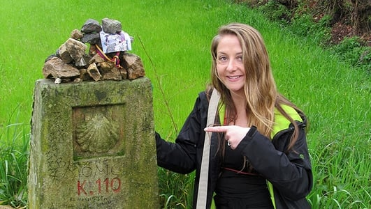 Camino de Santiago de Compostela - Days One And Two