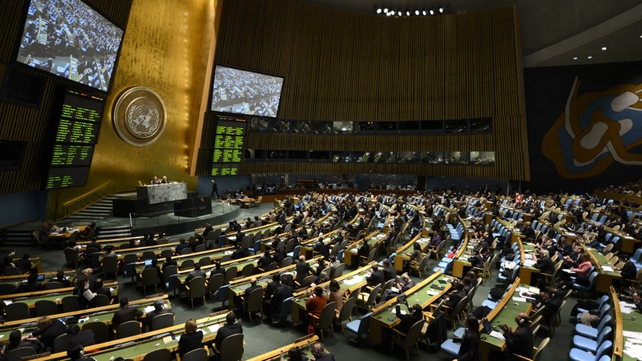 193-nation UN General Assembly approved arms trade treaty