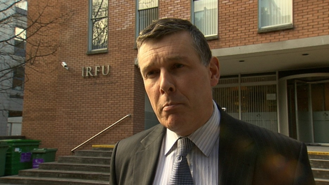 Philip Browne of the IRFU criticised the Department of Health for failing to work with sporting organisations