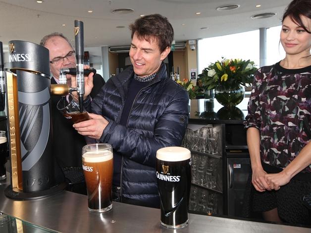 Tom Cruise and his Oblivion co-star Olga Kurylenko