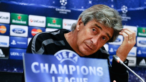 Man City manager Manuel Pellegrini confident ahead of CSKA clash tonight