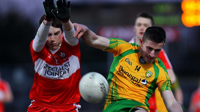 Donegal beat Derry by two points at  Healy Park