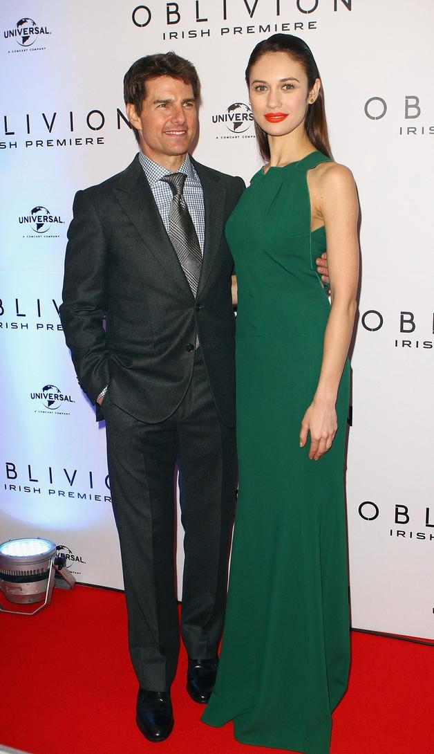 Cruise with Oblivion co-star Olga Kurylenko
