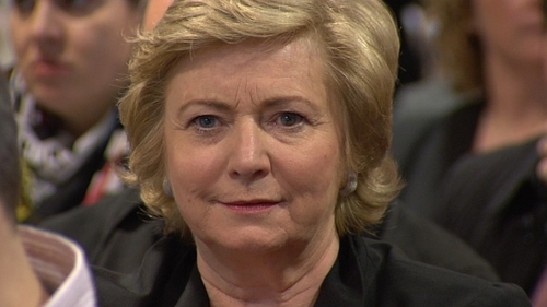Frances Fitzgerald said she is concerned about the numbers of people employed in creches who have not been Garda vetted