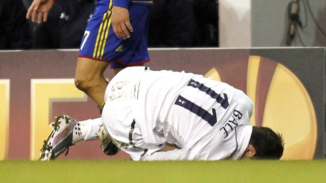 Gareth Bale has been ruled out of action for two weeks