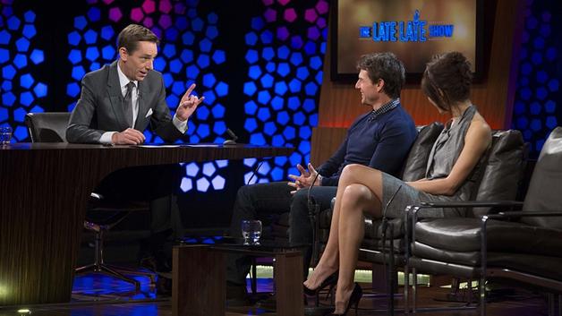 Ryan Tubridy, Tom Cruise, Olga Kurylenko