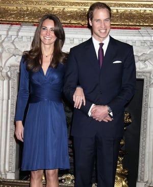 The Issa dress Kate Middleton wore for her engagement pics with Prince William