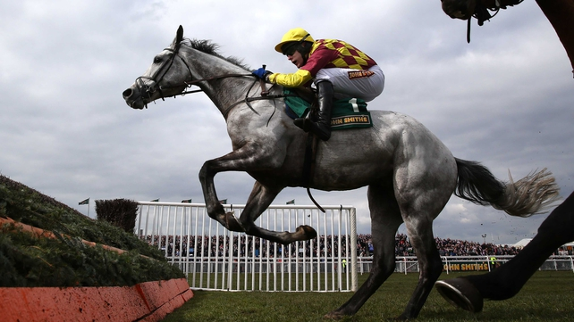 Dynaste followed hot on the hoofs of My Tent Or Yours as a Cheltenham runner-up who went one better on Merseyside