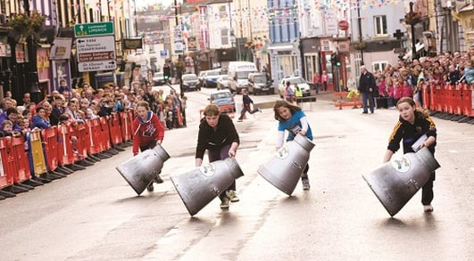 Milk Churn Racing