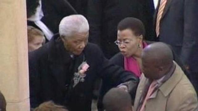 Nelson Mandela had been in hospital for nine days