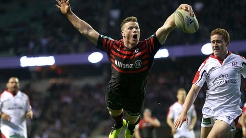 Chris Ashton scored a second-half try for the hosts