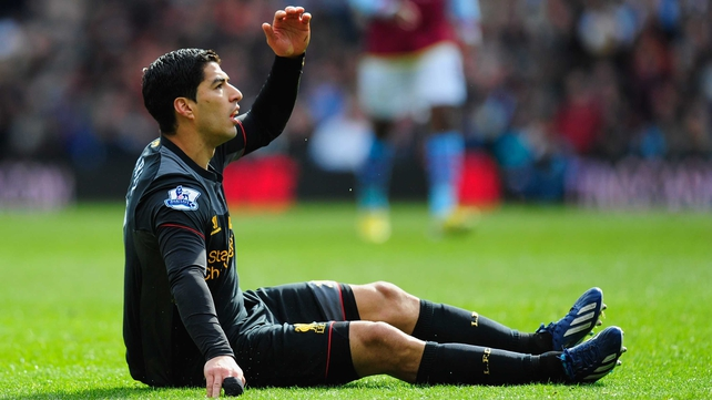 Luis Suarez looks set to be at least banned for the rest of this season