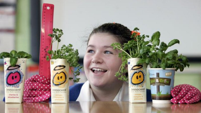 innocent and GIY have teamed up for the grow& sow campaign