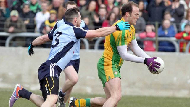 Colm McFadden scored an early goal for the All-Ireland champions