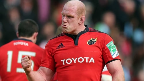 Paul O'Connell will line out for Munster against Zebre