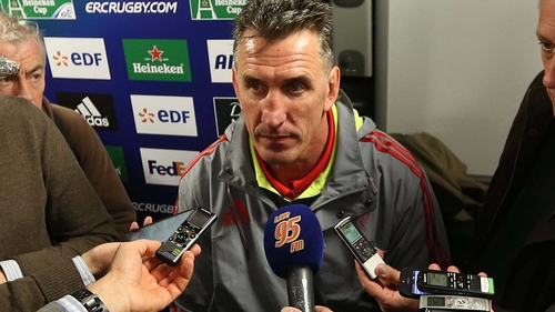 Rob Penney is hoping to land a contract extension with Munster