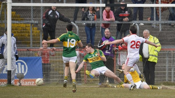 Kerry beat Tyrone by and point but had Dublin to thank for denying Donegal two points in Ballybofey