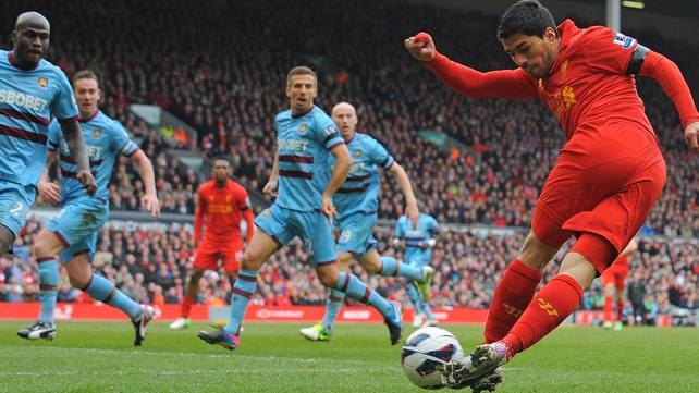 Luis Suarez's future at Anfield is uncertain
