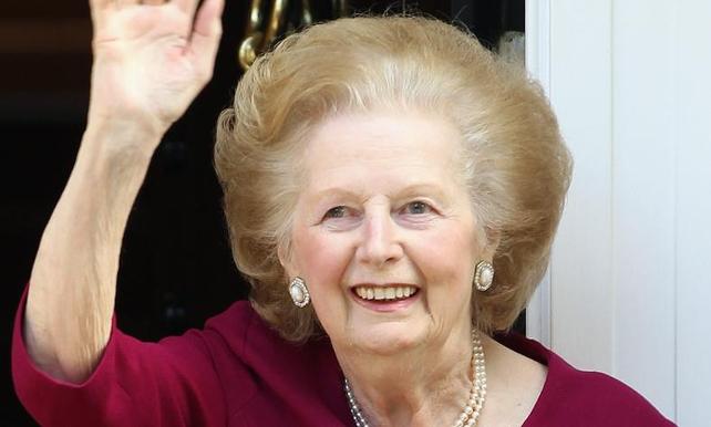 Former British PM Margaret Thatcher dies