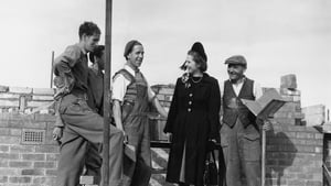 British Conservative Party candidate for Dartford, Margaret Roberts (later Thatcher) with foreman bricklayer John Hayes during a canvassing tour of the constituency, 13 October 1951