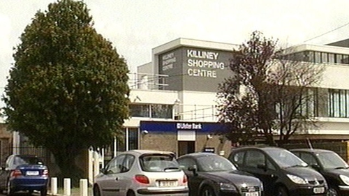 The raid happened at the rear of Killiney Shopping Centre