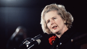 Margaret Thatcher died following a stroke aged 87