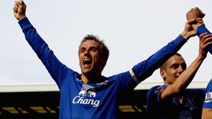 Former Everton made 242 appearances for Everton and 263 appearances for Manchester United