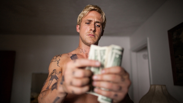 Ryan Gosling bleached his hair and gained some tattoos to play Luke