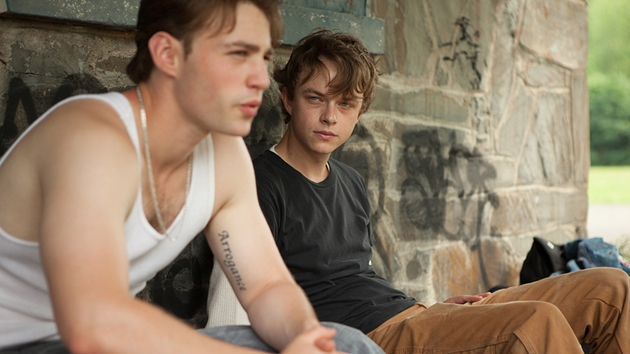 Dane DeHaan and Emory Cohen also star in the gritty crime drama