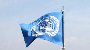 The flag will fly for the duration of Ireland's term on the security council