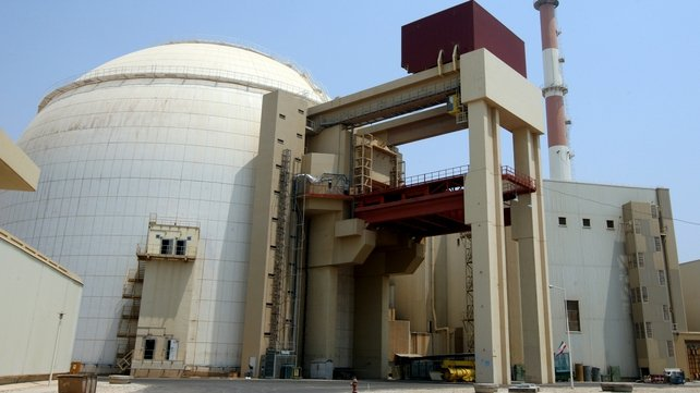 The Russian company that built the Bushehr nuclear plant said the reactor was undamaged
