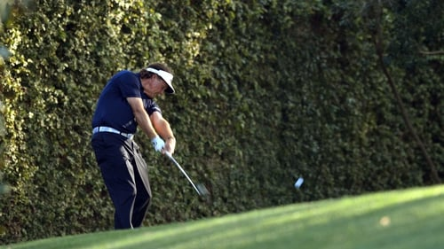 Phil Mickelson will tee off with Louis Oosthuizen and Martin Kaymer