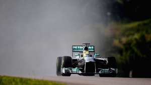 Nico Rosberg starts at the top in the Bahrain GP