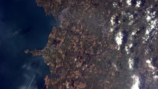 Southern Ireland, sweeping from Kinsale and the river Brandon (sic) down the coastline of County Cork.