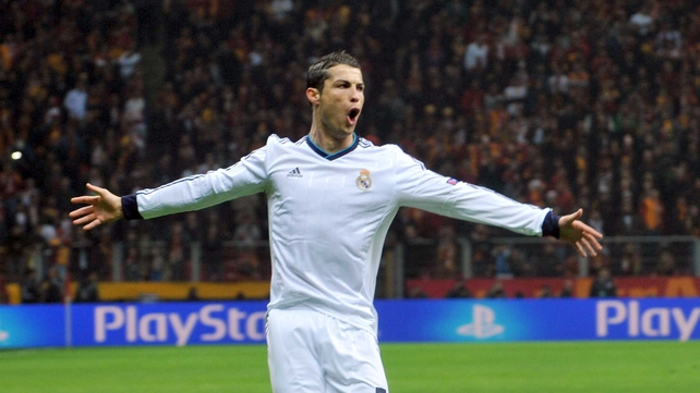 Cristiano Ronaldo bagged three goals in the tie