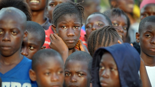 Children in Sierra Leone made up over 70% of victims
