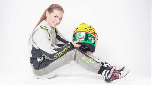 Malgosia Rdest will race for Douglas Motorsport in the 2013 BRDC Formula 4 Championship