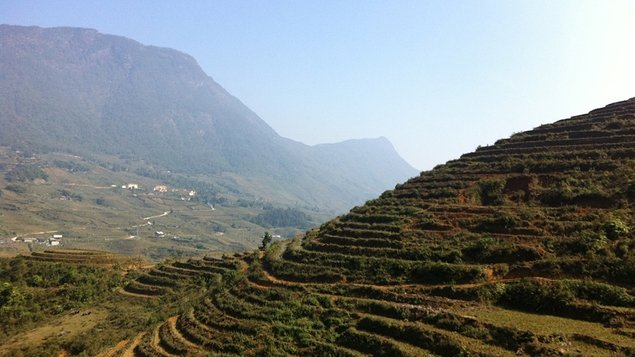 "The Sapa Valley is dubbed the ""Tonkinese Alps"""