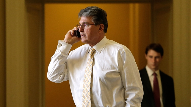 Joe Manchin is seen as a key figure in the debate, as he represents West Virginia, where gun control is strongly opposed