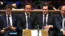 British parliament hears statements on Thatcher