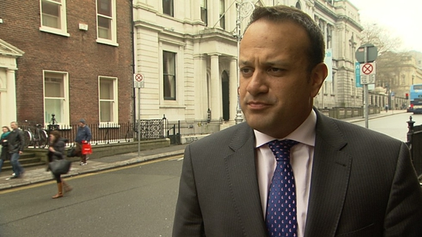 Leo Varadkar said Rehab will not be able to avoid answering questions over the CEO's salary
