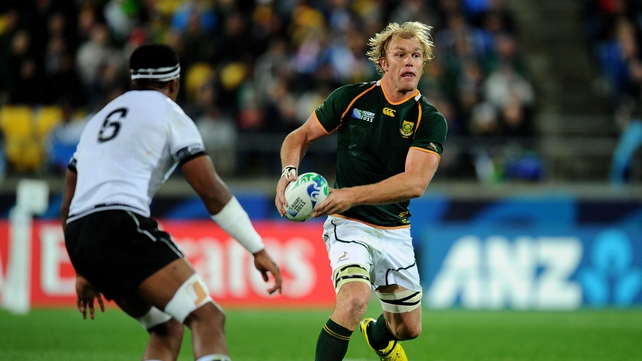 Schalk Burger faces another six weeks of rest before he can resume training