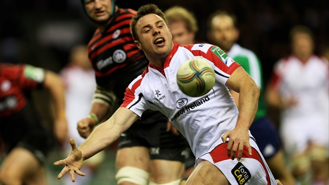 Tommy Bowe won his 100th cap against Saracens