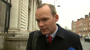 "Simon Coveney said there was ""no substance"" to stories that that State pension was about to be cut"